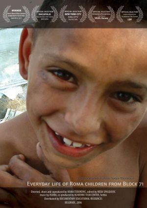 La vie quotidienne des enfants rom du block 71 - ivana todorovic